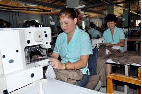 Taller textil guaimareño en la vanguardia productiva