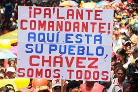 """Chávez: """"¡Viviremos y venceremos!"""""""