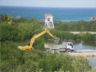 Avanza recuperación ambiental de Laguna Larga