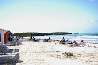 Rehabilitan playas de Jardines del Rey
