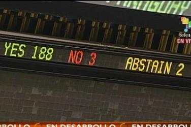 188 países rechazan el bloqueo a Cuba