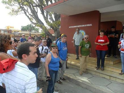 Patentizan en Ciego de Ávila solidaridad con los Cinco