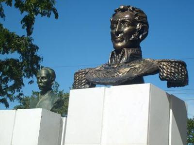 En el Venezuela Avileño nueva imagen de Simón Bolívar