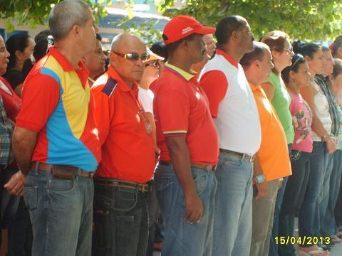 Respaldo Avileño a proceso revolucionario de Venezuela