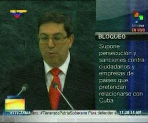 Bruno Rodríguez en ONU: El bloqueo es agresivamente extraterritorial