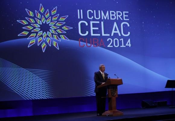 Discurso de Raúl: CELAC es una visión común de la Patria Grande