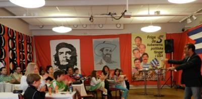 Un cubano identificado con sus raíces